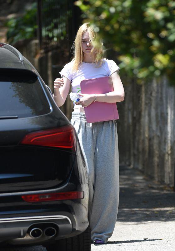 Elle Fanning - Out in LA 06/30/2017