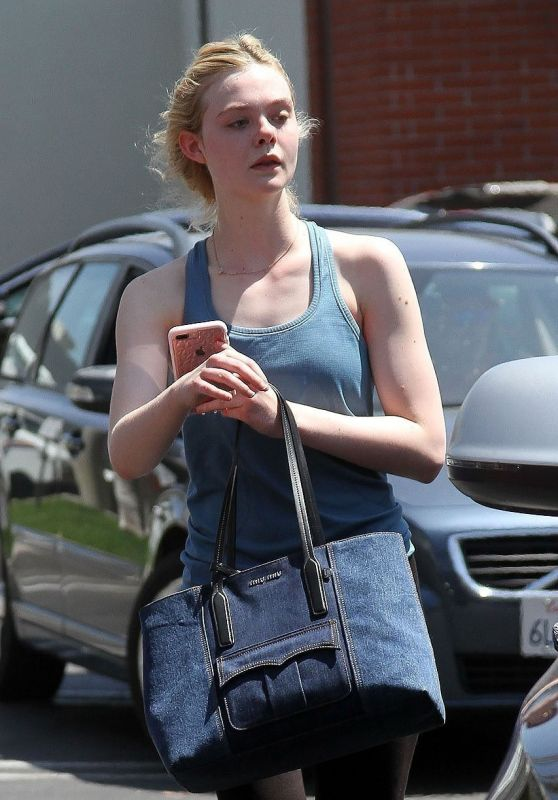 Elle Fanning - Out in Los Angeles 06/09/2017