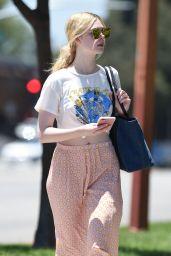 Elle Fanning - Running Errands in Los Angeles 06/26/2017
