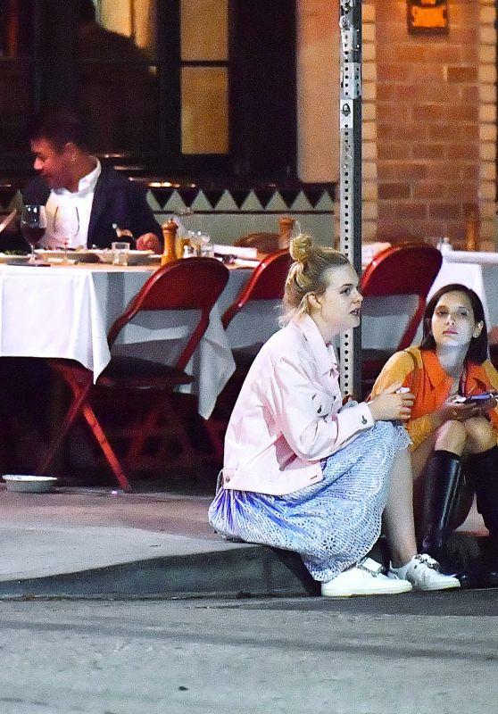 Elle Fanning With a Friend - Out in Los Feliz 06/13/2017