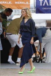 Ellie Goulding - Party on Board a Yacht in Cannes 06/21/2017