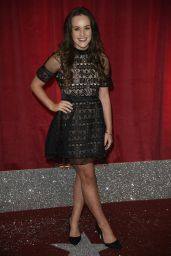 Ellie Leach on Red Carpet – British Soap Awards in Manchester, UK 06/03/2017