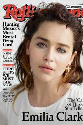 Emilia Clarke - Rolling Stone Magazine July 2017 Cover and Photo