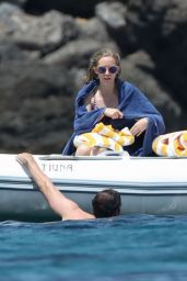 Emily Blunt in a Bikini - Tuscany, Italy 06/07/2017