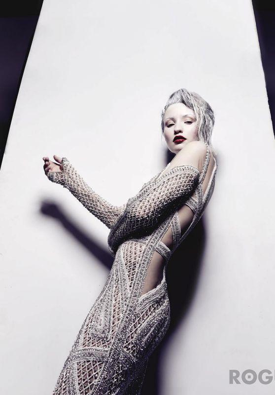 Emily Browning - Rogue Magazine 2017