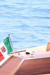 Emily Ratajkowski in Swimsuit - Positano, Italy 06/25/2017