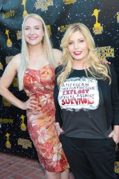 Emma Julia Jacobs and Stephanie Paris – Saturn Awards in Los Angeles 06/28/2017