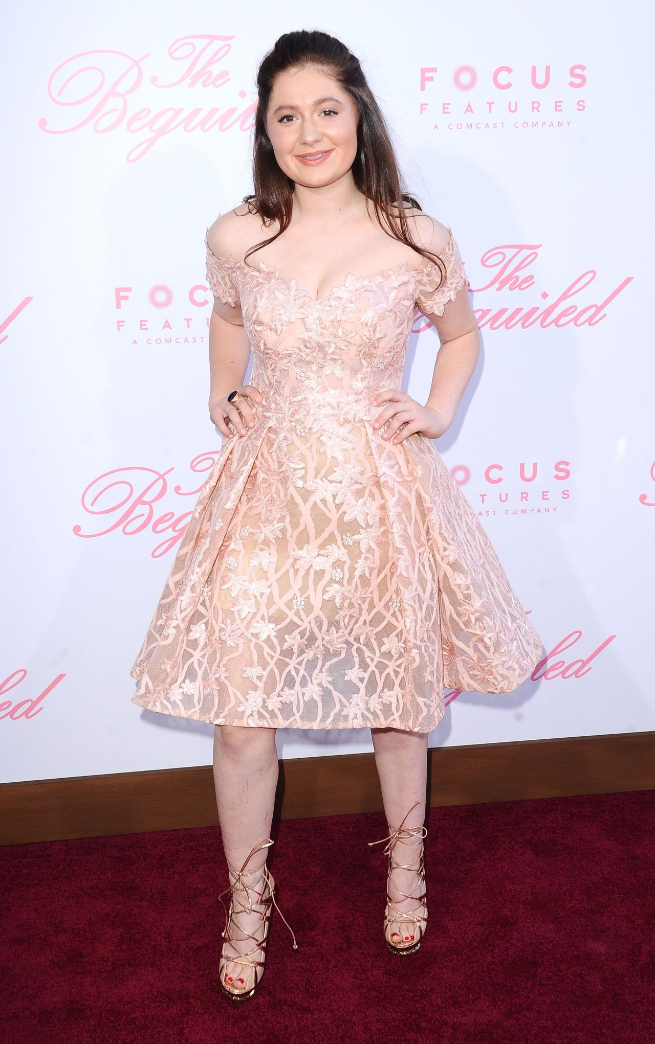 Emma kenney the beguiled movie premiere in los angeles