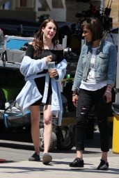 """Emma Roberts - Her New Film """"Little Italy"""" Set in Toronto, Canada 06/12/2017"""