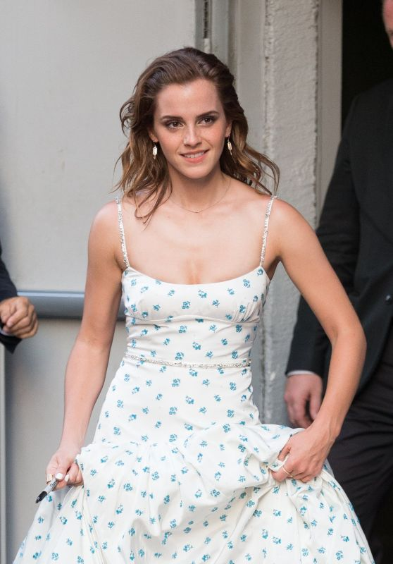 "Emma Watson - ""The Circle"" Premiere at Cinema UGC Normandie in Paris 06/21/2017"