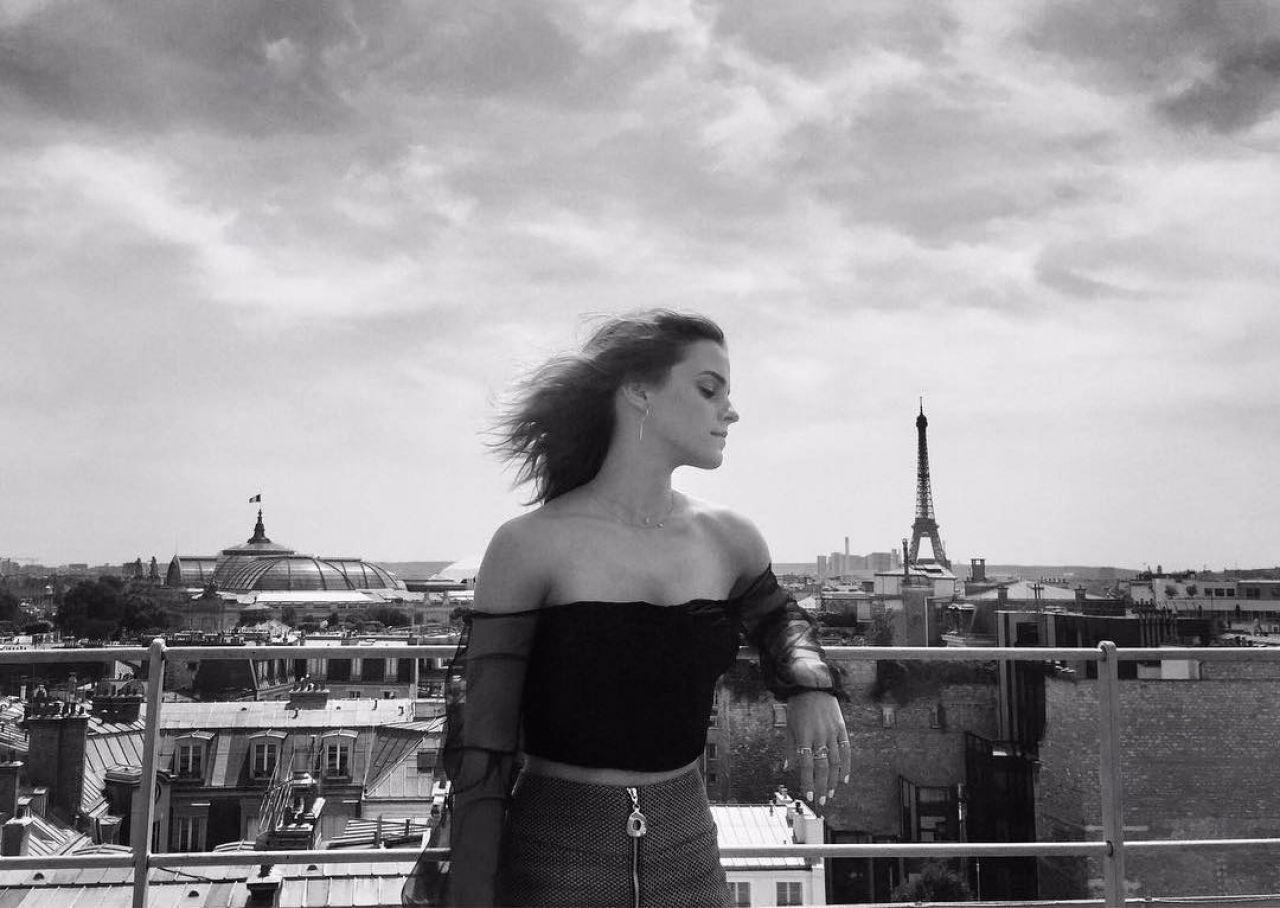 Emma Watson Quot The Circle Quot Press Tour Portraits In Paris