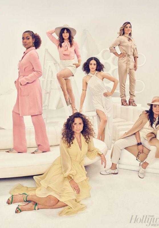 Emmy Rossum, Pamela Adlon, America Ferrera, Kathryn Hahn & Minnie Driver - Photoshoot for The Hollywood Reporter 2017