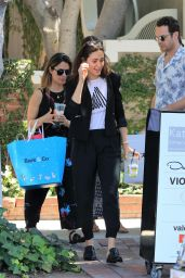 Emmy Rossum - Shopping With Friends in West Hollywood 06/29/2017