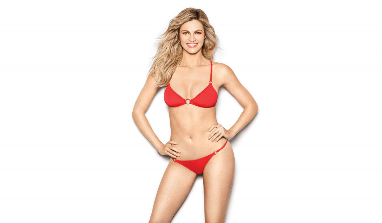 Erin Andrews Photoshoot For Health Usa July August 2017