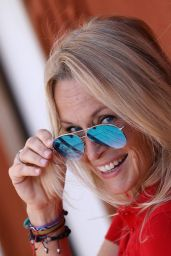 Estelle Lefébure – French Open Mens Final at Roland Garros in Paris 06/11/2017