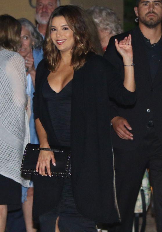 Eva Longoria at Dinner With Friends in Malibu, CA 06/16/2017