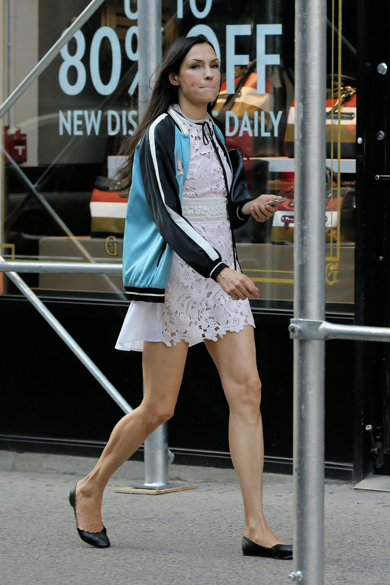 Famke Janssen - Out in NY 06/15/2017