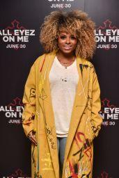 "Fleur East – ""All Eyez On Me"" Movie Premiere in London, UK 06/27/2017"