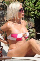 Frenchy Morgan in a Bikini - Malibu 06/19/2017
