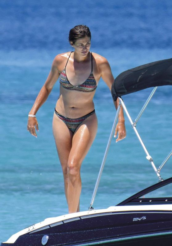 Garbine Muguruza in Bikini - Formentera, Spain 06/15/2017