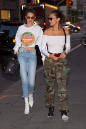 Gigi Hadid and Bella Hadid - Out in New York City 06/14/2017