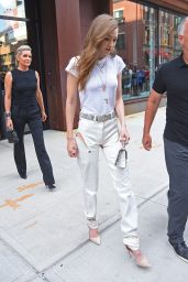 Gigi Hadid Casual Style - NYC 06/11/2017