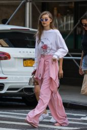 Gigi Hadid in Casual Attire - Out in NYC 06/11/2017
