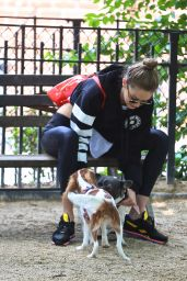 Gigi Hadid in Tompkins Square Park in New York City 06/14/2017