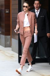 Gigi Hadid - Leaves Her Apartment in NYC 06/21/2017