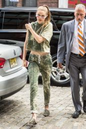 Gigi Hadid - Returns Home in NYC 06/09/2017