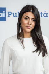 Giulia Salemi – RAI Italian National Television Network Programs in Milan 06/28/2017