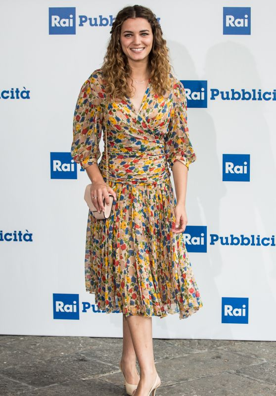 Giusi Buscemi – RAI Italian National Television Network Programs in Milan 06/28/2017