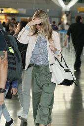 Gwyneth Paltrow Camera Shy - JFK Airport in New York 06/13/2017