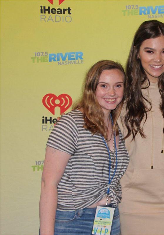 Hailee Steinfeld - 107.5 The River Meet & Greet in Nashville 06/22/2017