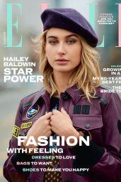 Hailey Baldwin - ELLE Magazine UK July 2017 Cover and Photos