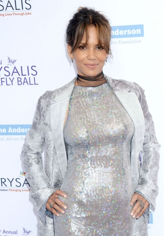 Halle Berry - Chrysalis Butterfly Ball in Los Angeles 06/03/2017