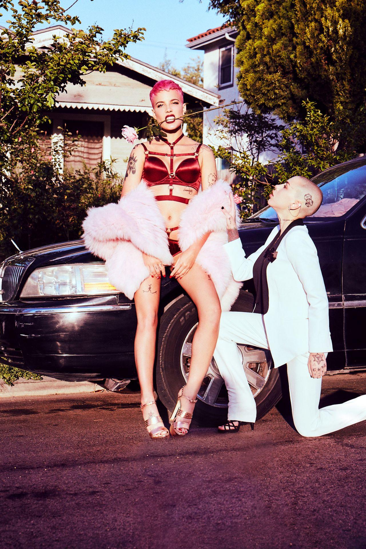 Halsey Photoshoot For Paper Magazine Summer 2017