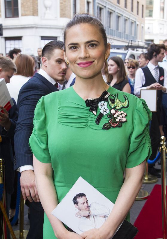 "Hayley Atwell – ""Hamlet"" Play in London, UK 06/15/2017"