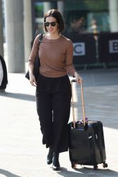 Heida Reed Arriving to Appear on BBC Breakfast in Manchester 06/20/2017