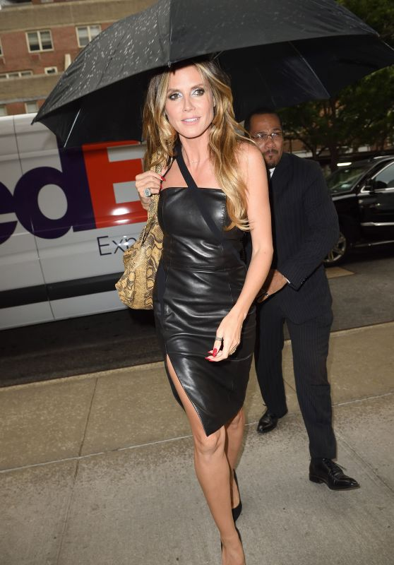 Heidi Klum Style - Out in New York City 06/23/2017