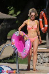 Helen Flanagan in a Bikini - Poolside in Majorca 06/15/2017