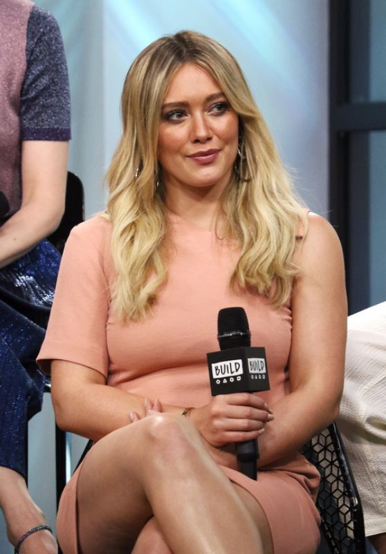 "Hilary Duff at AOL Build Series to Discuss ""Younger"" - NYC 06/27/2017"