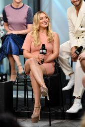 """Hilary Duff at AOL Build Series to Discuss """"Younger"""" - NYC 06/27/2017"""