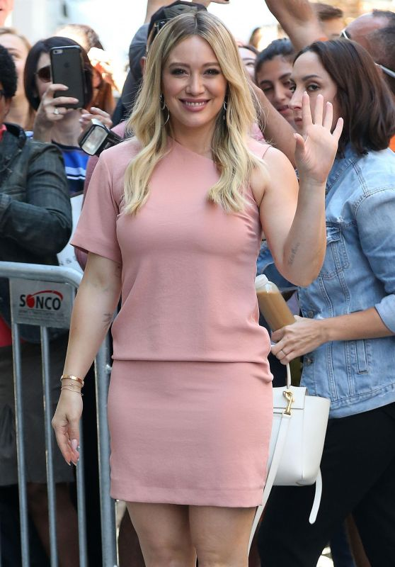 Hilary Duff - Leaves Sirius Studios in NYC 06/27/2017