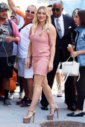 Hilary Duff - Leaves Sirius Studios in NYC 06/27/2017