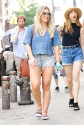 Hilary Duff - Out in SoHo in New York 06/24/2017
