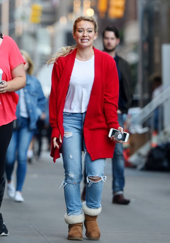"Hilary Duff - ""Younger"" Set in NYC 06/08/2017"