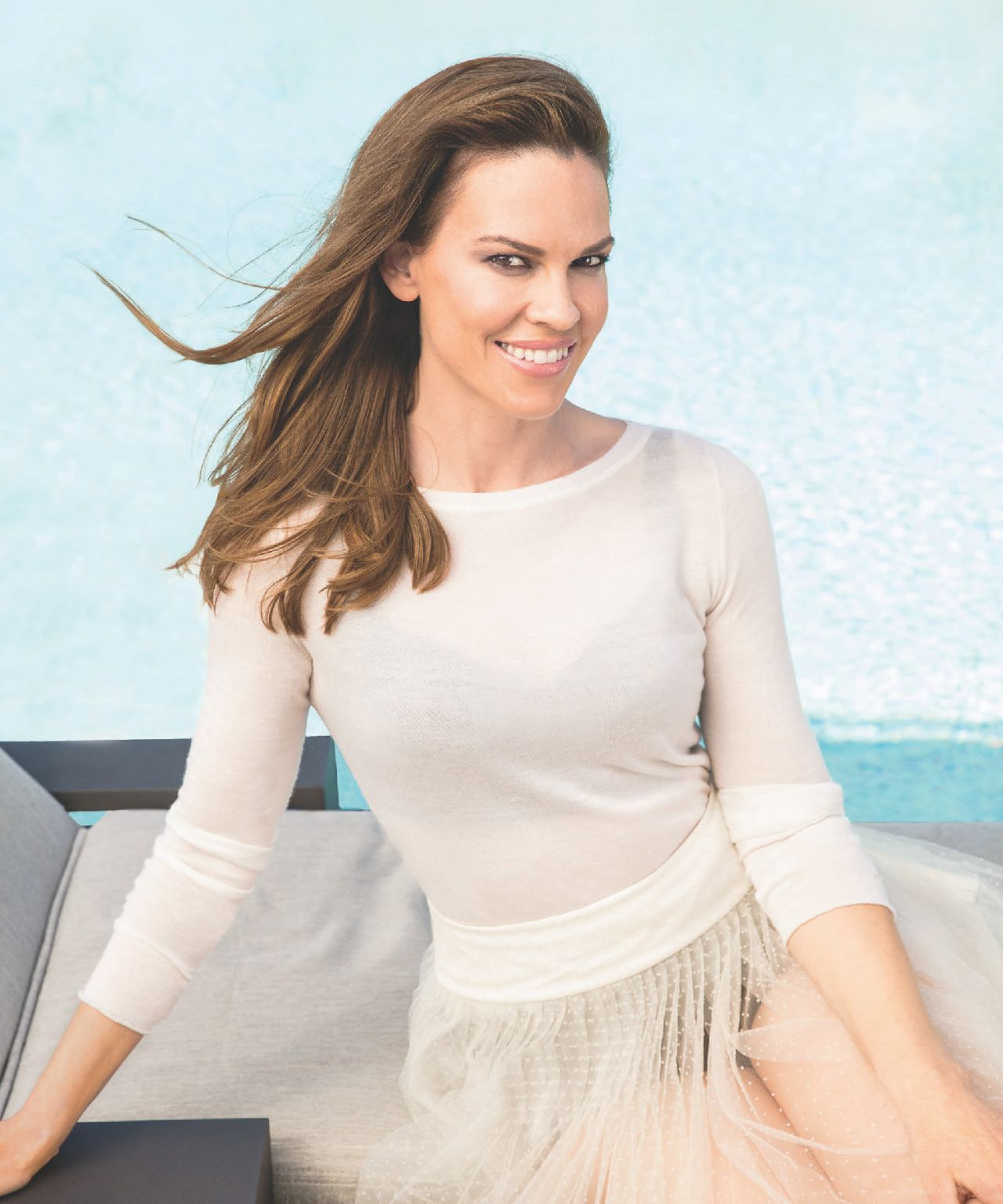 Hilary Swank - Hampton...