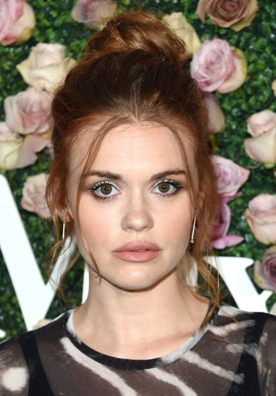 Holland Roden – Women In Film Max Mara Face of the Future Awards in LA 06/12/2017