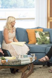 """Holly Willoughby - """"This Morning"""" TV Show in London 06/22/2017"""